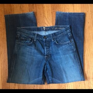 7 For All Mankind Men's A Pocket Jeans 31 x 27
